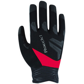 Roeckl Montefino Gloves, black/red